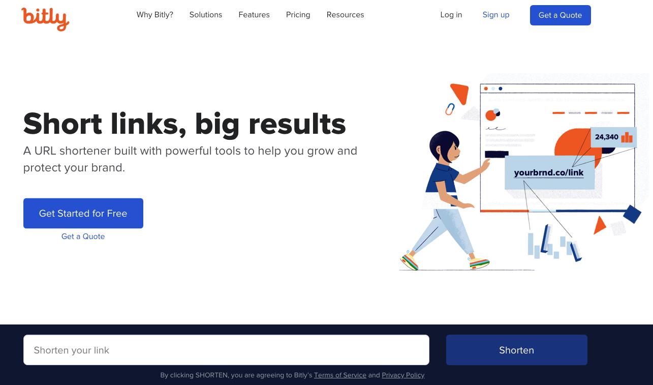 Bit.ly est le géant des réducteurs de liens